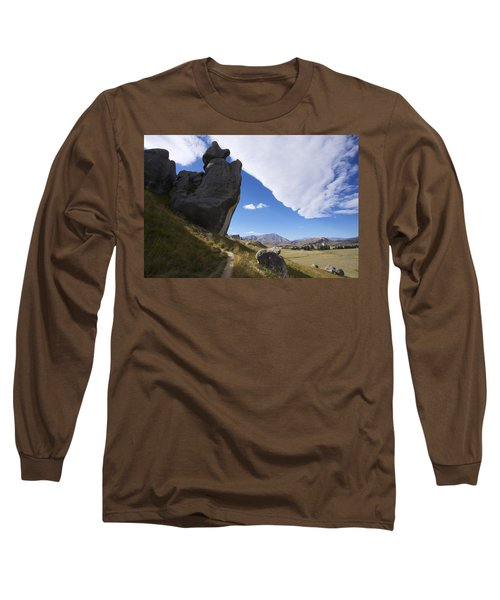 Castle Hill #7 Long Sleeve T-Shirt by Stuart Litoff