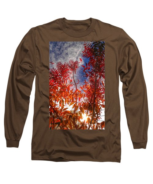 Catharsis Long Sleeve T-Shirt by CML Brown