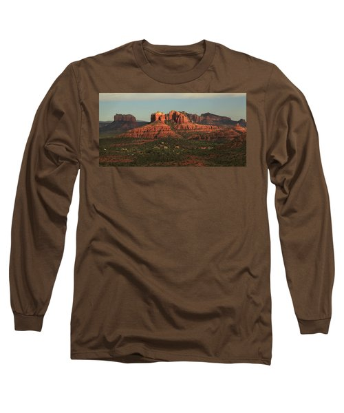 Long Sleeve T-Shirt featuring the photograph Cathedral Rocks In Sedona by Alan Vance Ley