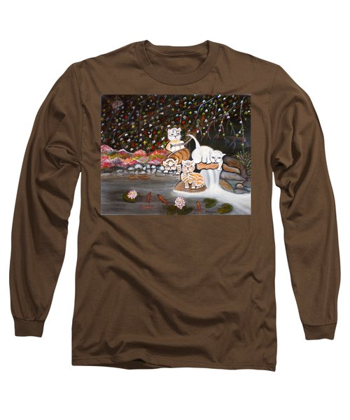 Cats In The Wild II Long Sleeve T-Shirt