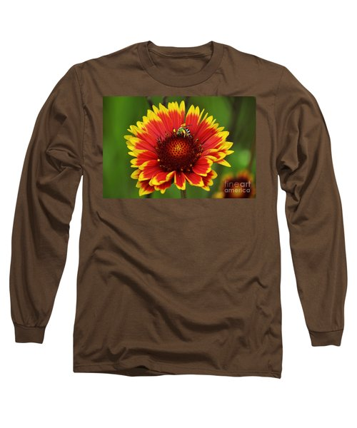 Caught Snacking Long Sleeve T-Shirt by Kevin Fortier