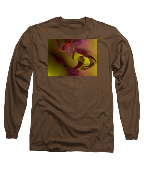 Long Sleeve T-Shirt featuring the digital art Cause An Effect by Jeff Iverson