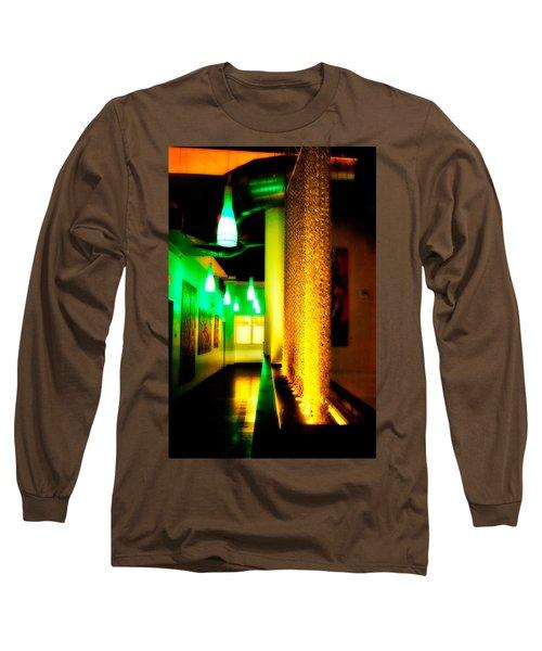 Chain Lighting Long Sleeve T-Shirt by Melinda Ledsome