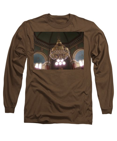 Chandelier Of Sofia Synagogue Long Sleeve T-Shirt