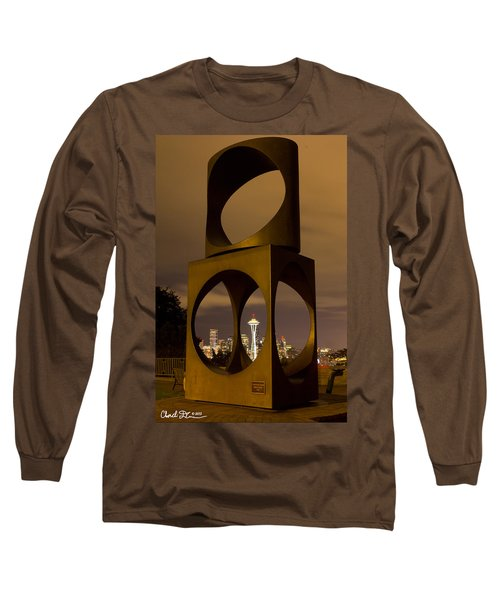 Changing Form Of Seattle Long Sleeve T-Shirt