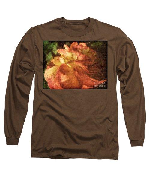 Long Sleeve T-Shirt featuring the digital art Chanson D'amour by Lianne Schneider
