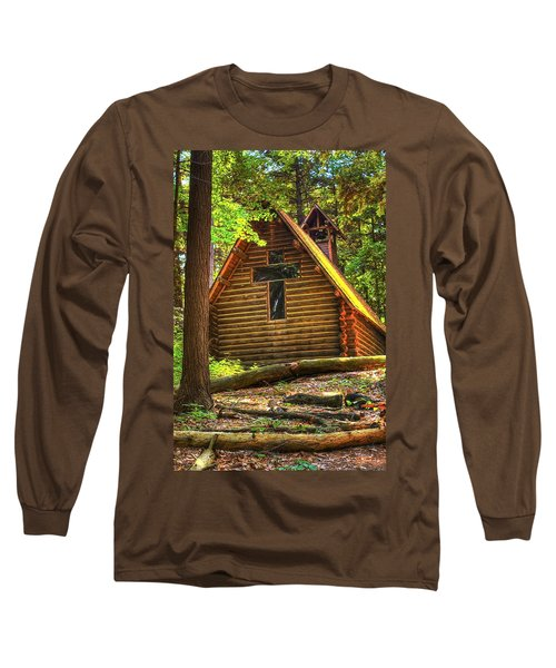 Chapel In The Pines Long Sleeve T-Shirt