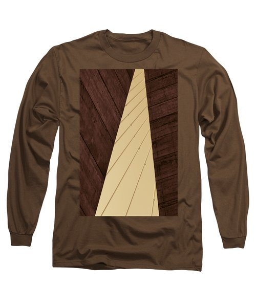 Charleston Bridge Abstract Long Sleeve T-Shirt