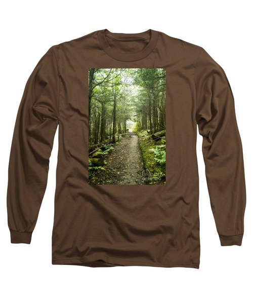 Long Sleeve T-Shirt featuring the photograph Charlies Bunion Bald Trail by Debbie Green