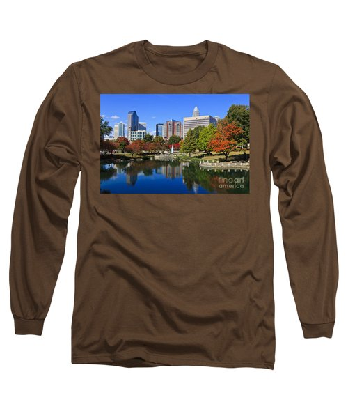 Charlotte North Carolina Marshall Park Long Sleeve T-Shirt