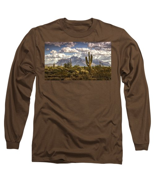 Chasing Clouds Two  Long Sleeve T-Shirt by Saija  Lehtonen