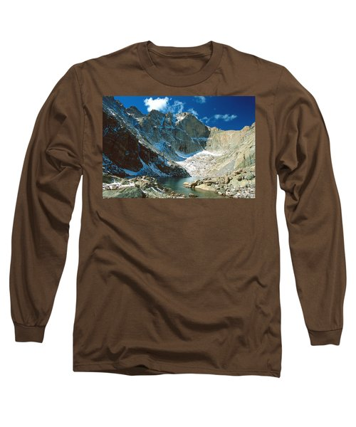 Chasm Lake Long Sleeve T-Shirt by Eric Glaser