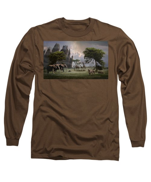 Cherish Our Earth's Creatures Long Sleeve T-Shirt