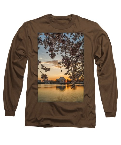 Cherry Sunrise Burst Long Sleeve T-Shirt
