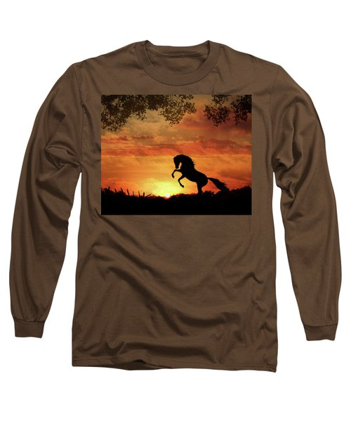 Chestnut Sunset Long Sleeve T-Shirt