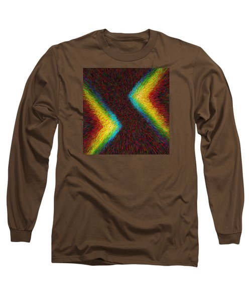 Chevron Double Rainbow C2014 Long Sleeve T-Shirt
