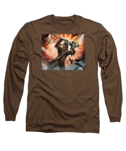 Chewbacca - Star Wars The Card Game Long Sleeve T-Shirt