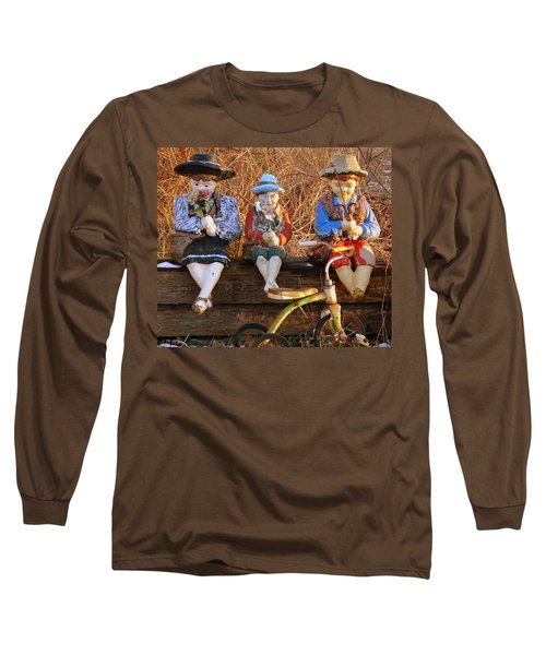 Long Sleeve T-Shirt featuring the photograph Childhood by Rodney Lee Williams