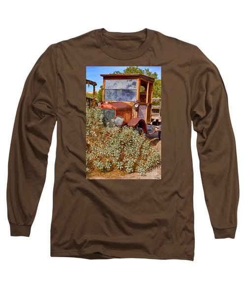 China Ranch Truck Long Sleeve T-Shirt by Jerry Fornarotto