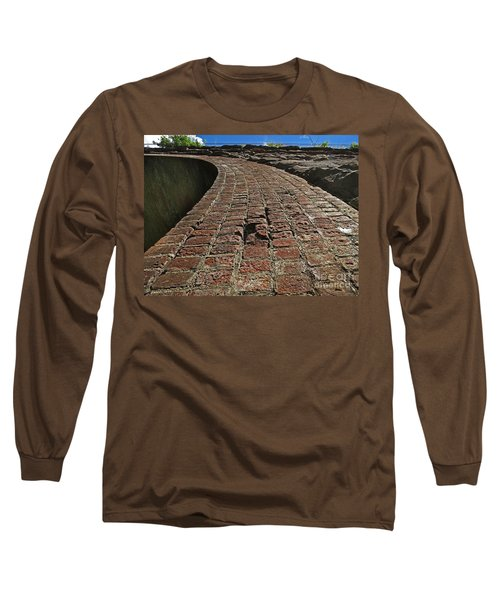 Chipmunks View Of A Stone Bridge Long Sleeve T-Shirt