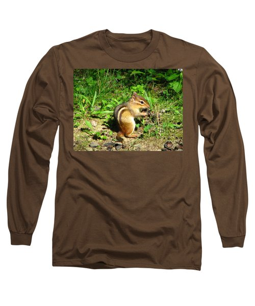 Chippy Long Sleeve T-Shirt by Michael Krek