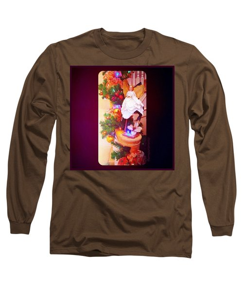 Christmas Past #christmas #decorations Long Sleeve T-Shirt