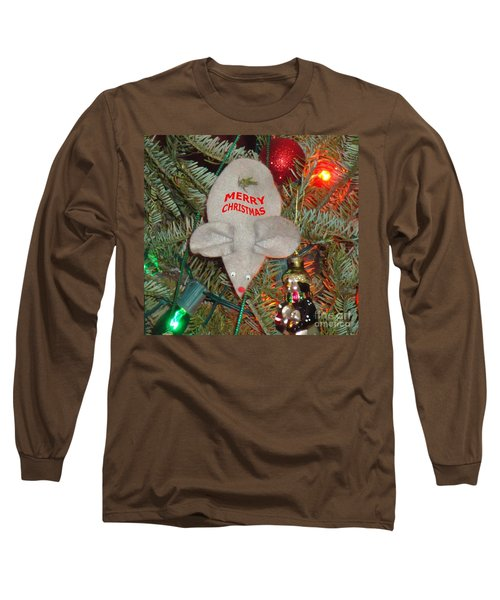 Christmas Tree Mouse Long Sleeve T-Shirt