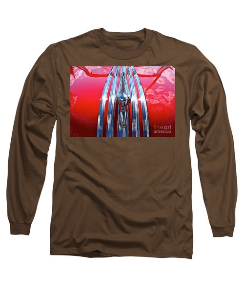 Long Sleeve T-Shirt featuring the photograph Chrome Chief by Linda Bianic