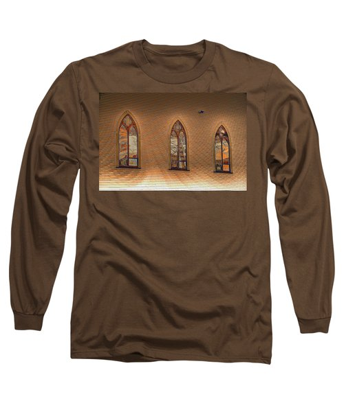 Church Windows Long Sleeve T-Shirt