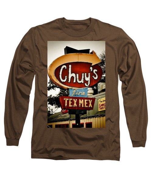 Chuy's Sign 2 Long Sleeve T-Shirt