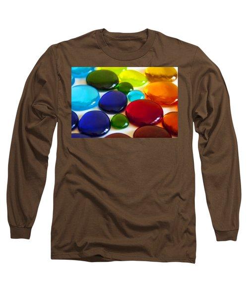 Circles Of Color Long Sleeve T-Shirt