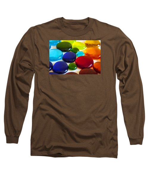 Circles Of Color Long Sleeve T-Shirt