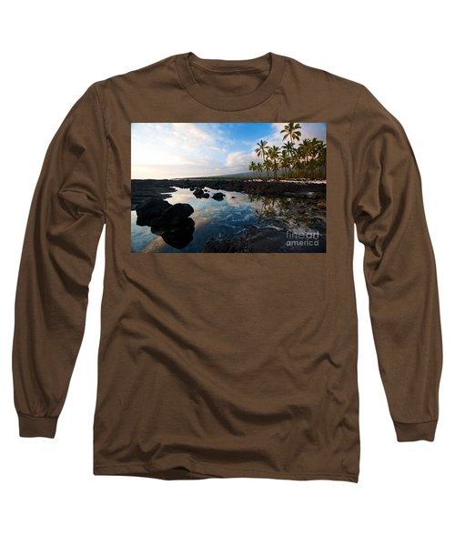 City Of Refuge Beach Long Sleeve T-Shirt by Mike Reid