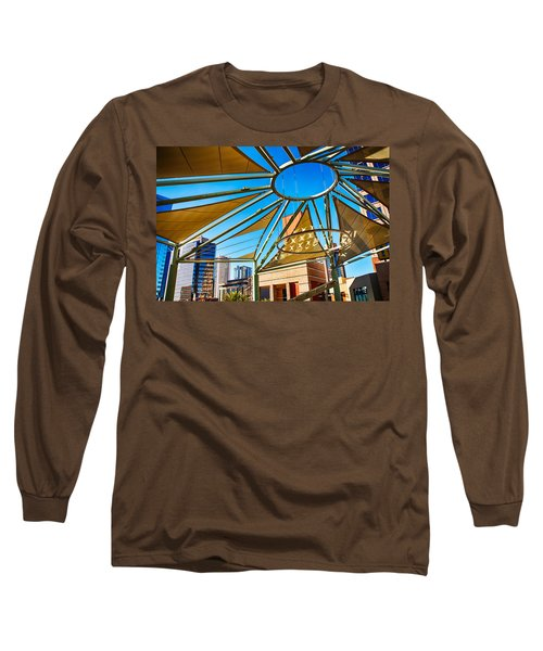 City Shapes Long Sleeve T-Shirt by Fred Larson