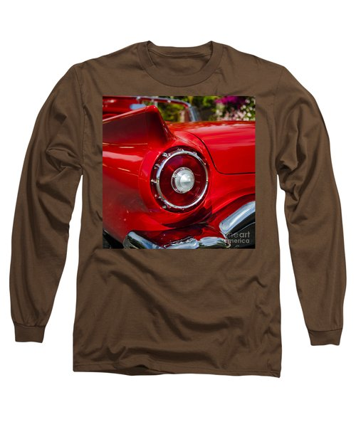 Long Sleeve T-Shirt featuring the photograph 1957 Ford Thunderbird Classic Car  by Jerry Cowart