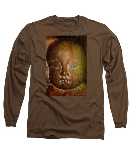 Long Sleeve T-Shirt featuring the photograph Clayface by WB Johnston