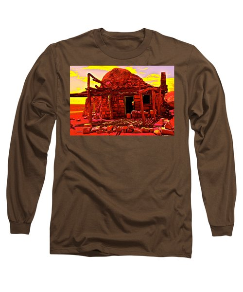 Cliff Dwellers In Red Long Sleeve T-Shirt