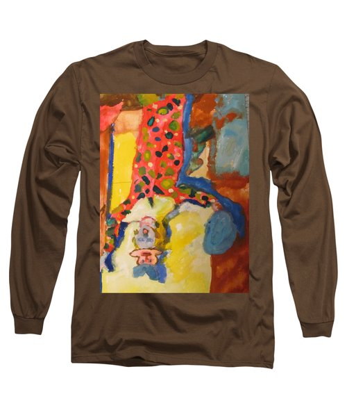 Clown Girl Long Sleeve T-Shirt