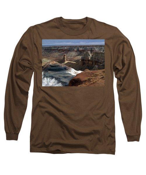 Coal Mine Mesa 09 Long Sleeve T-Shirt by Jeff Brunton