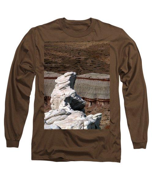 Coal Mine Mesa 14 Long Sleeve T-Shirt by Jeff Brunton