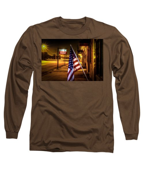 Coca-cola And America Long Sleeve T-Shirt