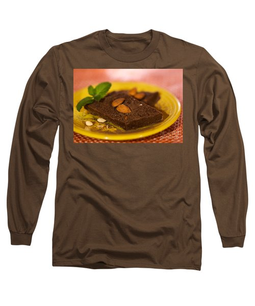 Coconut Almond Squares Long Sleeve T-Shirt
