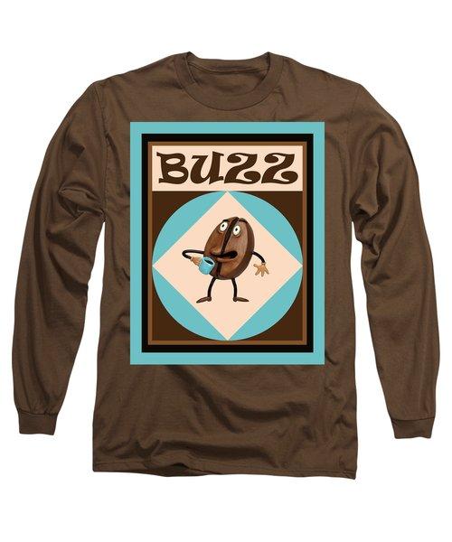 Coffee Buzz Long Sleeve T-Shirt
