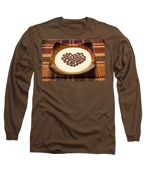 Coffee And Cream Long Sleeve T-Shirt