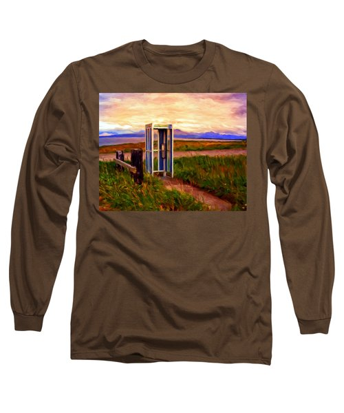 Cold Bay Ferry Service Long Sleeve T-Shirt