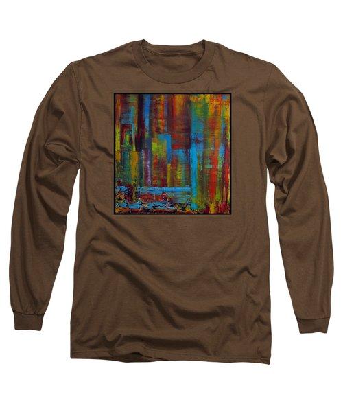 Color Burst Long Sleeve T-Shirt by Katia Aho