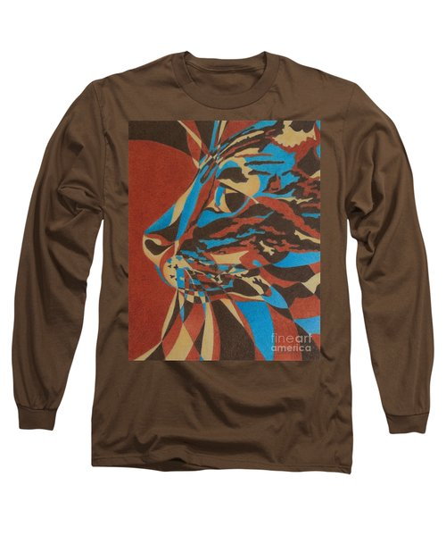 Color Cat II Long Sleeve T-Shirt by Pamela Clements