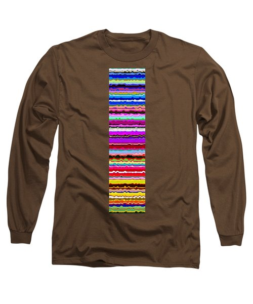 Color Waves No. 6 Long Sleeve T-Shirt