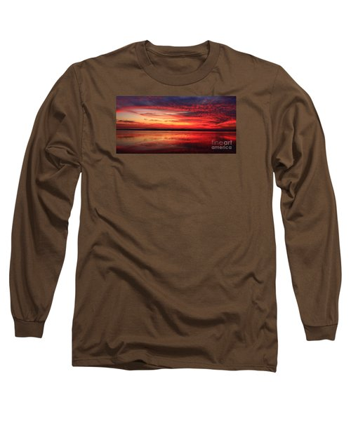 Encinitas Twilight Tide Long Sleeve T-Shirt
