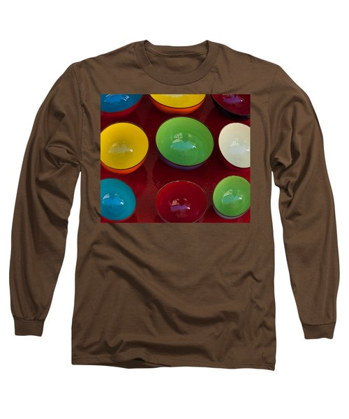 Colors Tray Long Sleeve T-Shirt